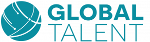 Global Talent logo Blue 3