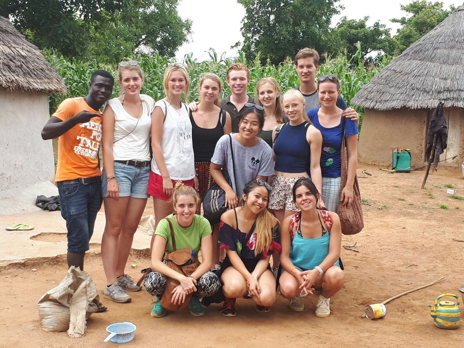 voluntary project in ghana aiesec